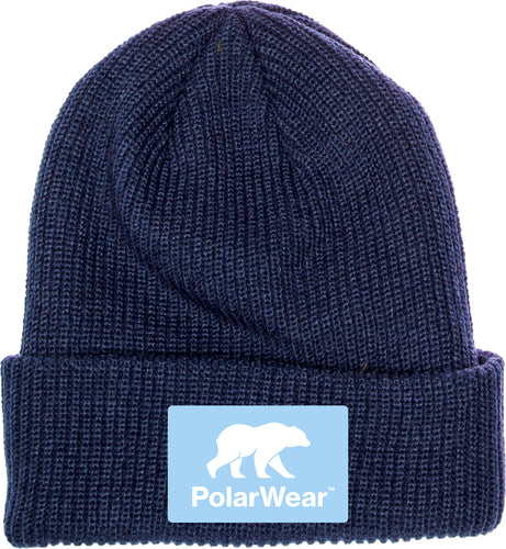 Warm Beanie in Navy