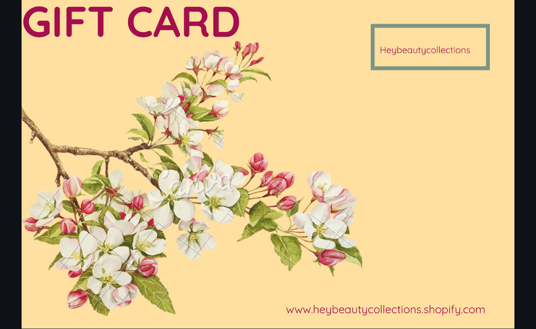 Heybeautycollections Gift Card