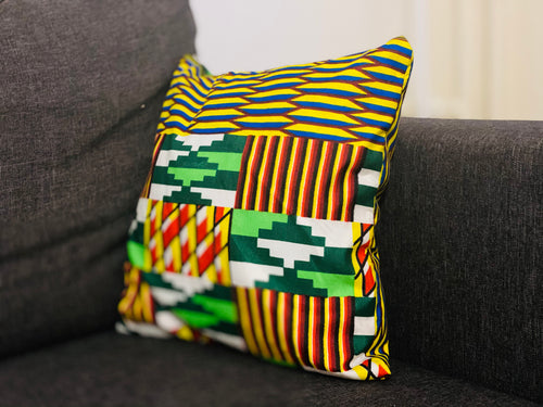LILY AFRICAN PRINT THROW PILLOWS