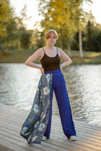MIMI PANTS WITH DRAPES