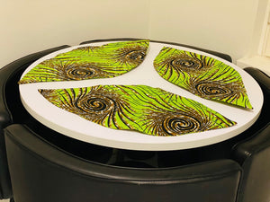 3 IN 1 TABLE MAT LEAFY SET