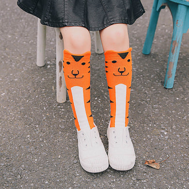 0-6year Cute Animal Zoo Socks/ Baby/ Girls/ Boys Cotton