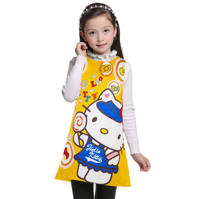 3 4 5 6 7 8 9 10 11 12 Girls Dress/ Hello Kitty