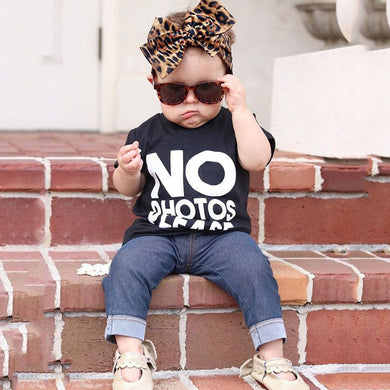 Long Sleeve Letter Print T-shirt+Pants 2Pcs Kids Clothing Sets