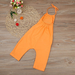 Girls Straps Rompers Jumpsuits