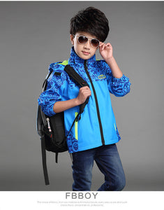 Boys Jacket Autumn/toddler and pre-teen