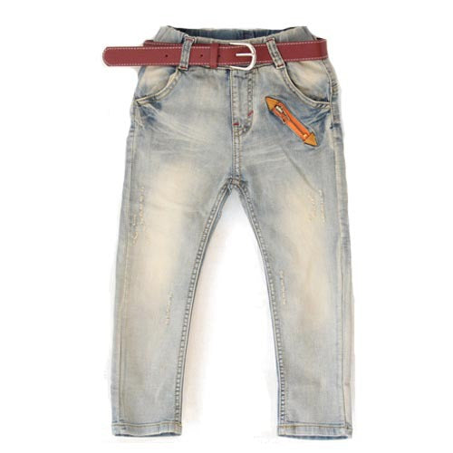 boys jeans white/ soft material kids jean fit for age 3 4 5 6 7 8 9 10 11 12 years old