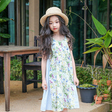 Teenagers Girl Floral Dress  3 4 5 6 7 8 9 10 11 12 13 14
