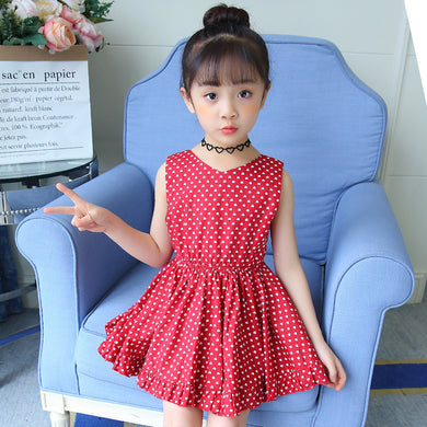 heart print summer girl princess dress 3456 7 8 9 10 11 to 12