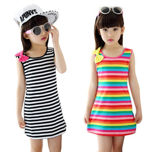 Striped Sleeveless dress 2 3 4 5 6 7 8 9 10 11 12