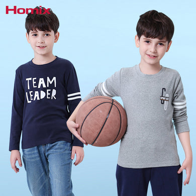 4-12 Years Boy Cotton Long Sleeve T-shirts