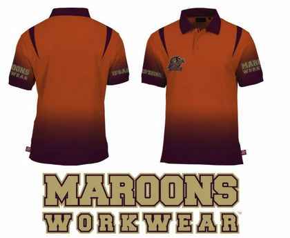 "STATE OF ORIGIN TEAM ""MAROONS WORKWEAR"" FASHIONABLE WORK WEAR - Nextra Peninsula Fair News"