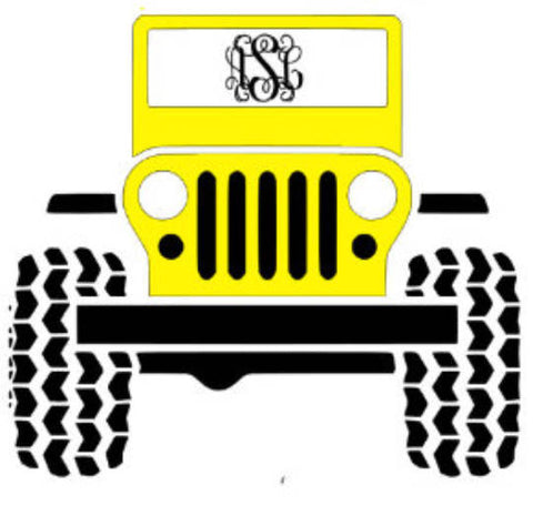 Truck Decal, Auto Decal, Won't Get Stuck, Mudding Decal, 4x4 Decal, 5 Inch Decal, Custom Color Decal, Custom Decal, Laptop Decal, Cup Decal