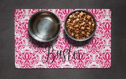 Personalized Pet Food Mat