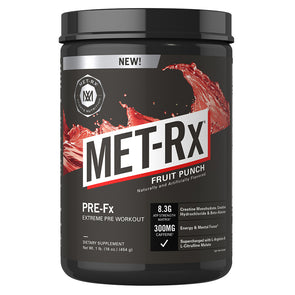 Met-Rx PRE-FX Fruit Punch - 35 Servings