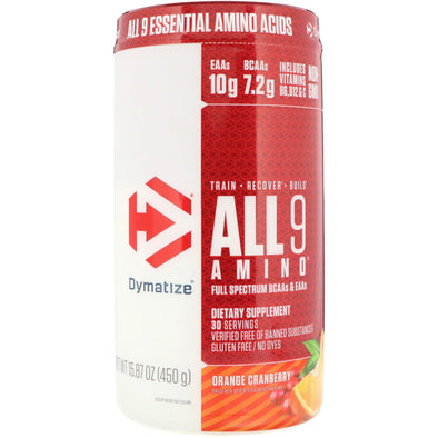 Dymatize Nutrition, All 9 Amino, 15.87 oz (450 g)