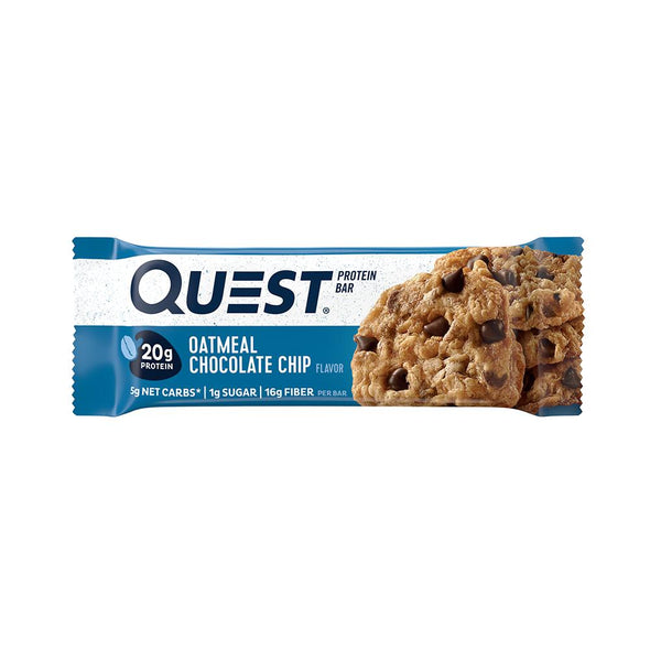 Quest Nutrition Natural Protein Bars Oatmeal Chocolate Chip (Box of 12)