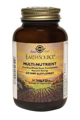 Solgar Earth Source Multi-Nutrient Tablets (60 tabs)