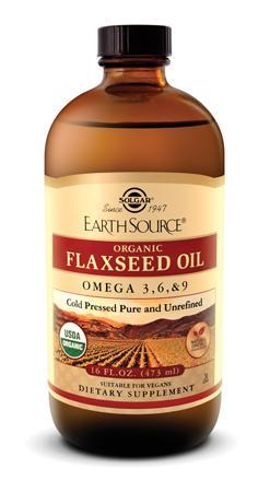 Solgar Flaxseed Oil (16 FL OZ)