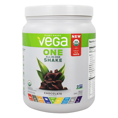Vega One Organic All-In-One Shake - Chocolate 13.2 oz.