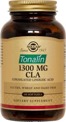 Solgar Tonalin 1300 mg CLA (60 Softgels)