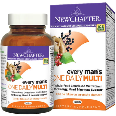 New Chapter, Every Man's One Daily Multi Vitamin