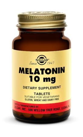 Solgar Melatonin 10 mg (60 Tablets)