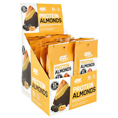 Optimum Nutrition Protein Almonds - Dark Chocolate Peanut Butter (12 Packet)