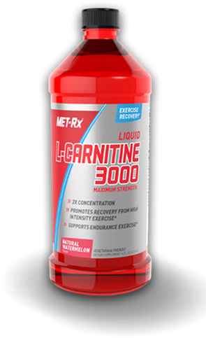 Met-Rx Liquid L-Carnitine 3000, 16 FL Oz.
