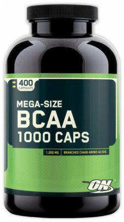 Optimum BCAA 1000 (400 Capsules)