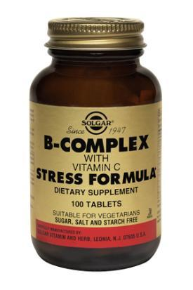 Solgar B-Complex with Vitamin C (100 tabs)