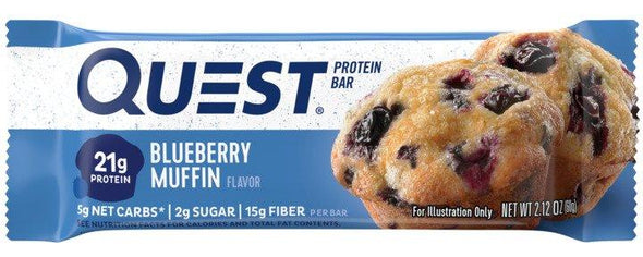 Quest Bars Blueberry Muffin (Box of 12)