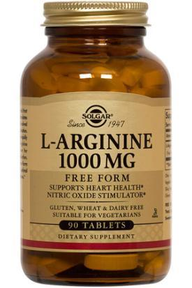 Solgar L-Arginine 1000 MG (90 Tablets)