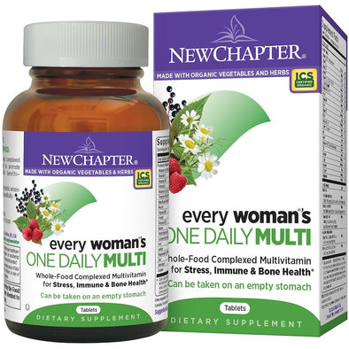 New Chapter, Every Woman's One Daily Multi Vitamin