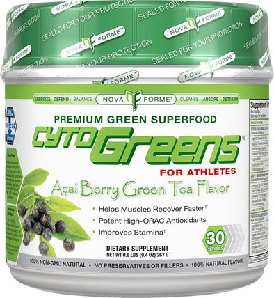 CytoGREENS by Nova Forme - 30 Servings