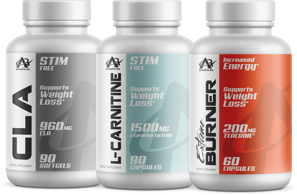 Athletic RX Triple Stack For Fat Loss