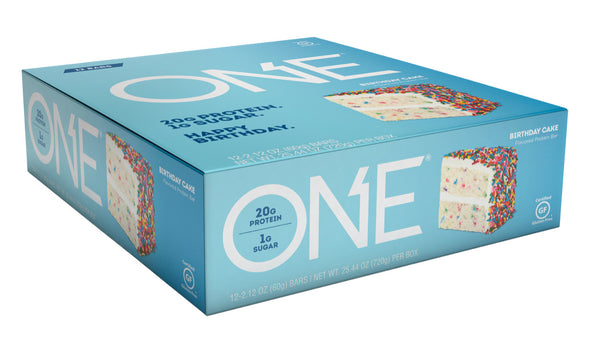 One Bar Birthday Cake (Box of 12)
