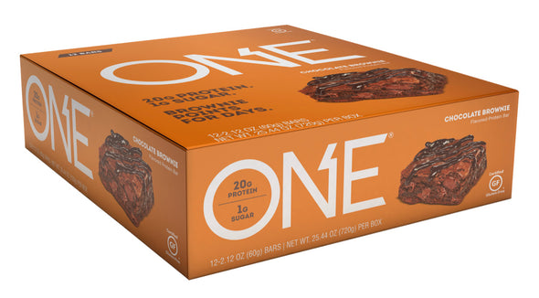 One Bar Chocolate Brownie (Box of 12)