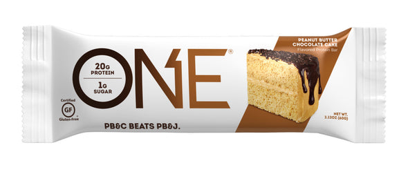 One Bar Peanut Butter Chocolate Cake (Box of 12)