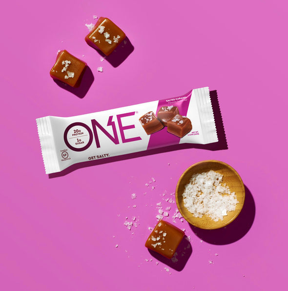 One Bar Salted Caramel (Box of 12)