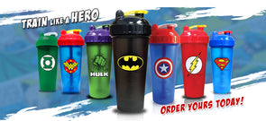 Marvel Heroes Shaker Bottle