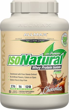 AllMax Nutrition IsoNatural (5Lbs.)