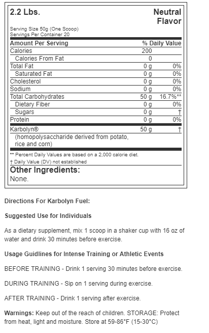 All American EFX Karbolyn (2.2 lbs)