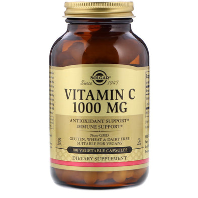Solgar Vitamin C 1000mg (100 Vegicaps)