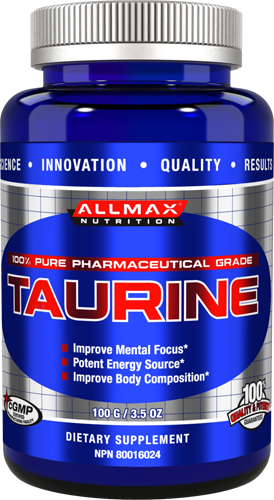 AllMax Nutrition Taurine (400 grams)