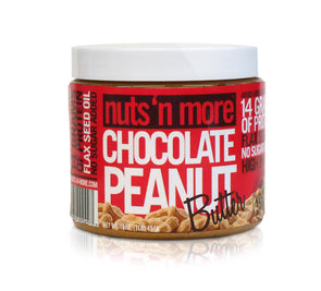 Nuts 'n More Chocolate Peanut Butter (16 oz)