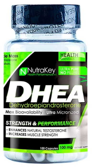 Nutrakey DHEA 100mg, 100 Ct