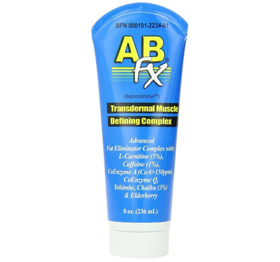 Body Fx Ab-fx Transdermal Muscle Defining Complex Topical Fat Burner 8 Oz