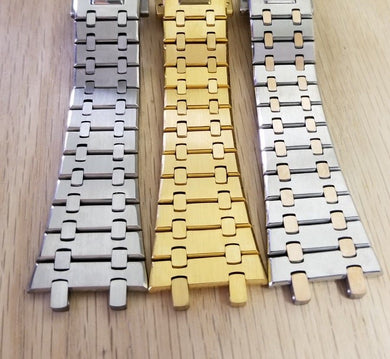 New ! Watch Bracelet Strap To Fit Audemars Piguet, Royal Oak (3 models)