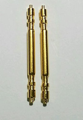 GOLD (Plated) SPRING BAR PIN 20MM FOR ROLEX WATCH PRESIDENT PART (Heavy Duty)